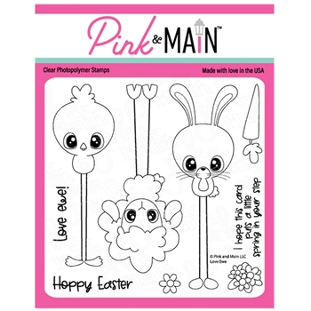 Pink and Main LOVE EWE Clear Stamps PM0451