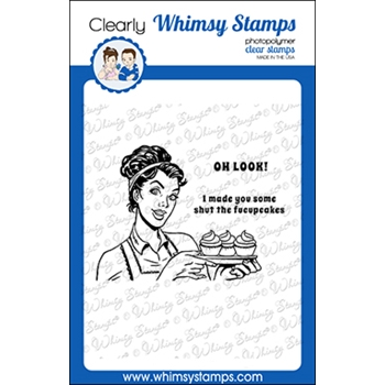 Whimsy Stamps MEME OH LOOK Clear Stamps CWSD366