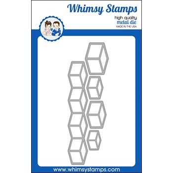 Whimsy Stamps CUBED Dies WSD521