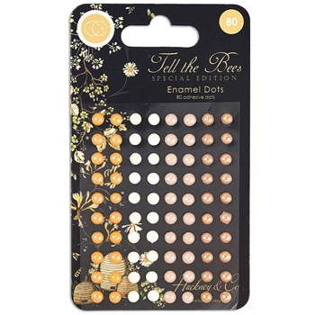 Craft Consortium TELL THE BEES SPECIAL EDITION Adhesive Enamel Dots CCADOT011
