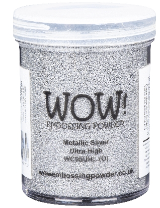WOW Embossing Powder METALLIC SILVER Ultra High Large Jar wc05uhl Preview Image