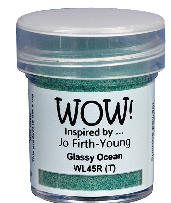 WOW Embossing Powder GLASSY OCEAN WL45 Preview Image