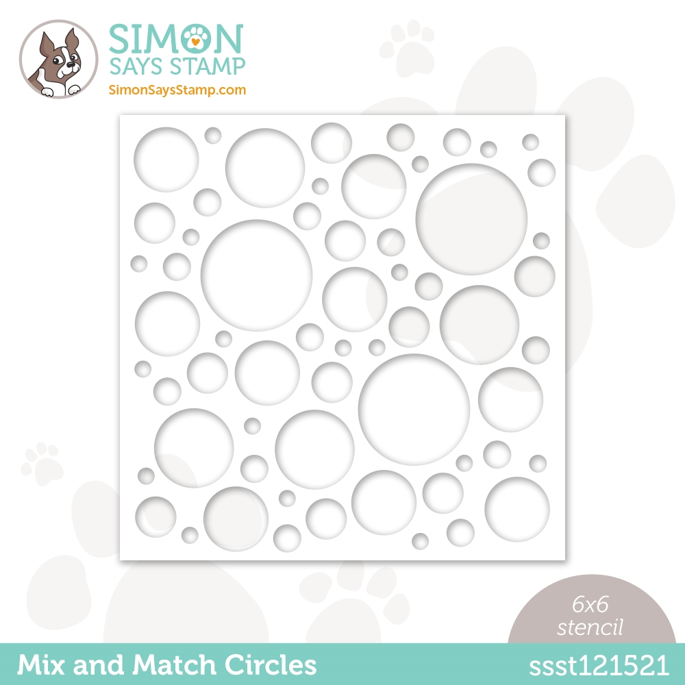Simon Says Stamp Stencil MIX AND MATCH CIRCLES ssst121521 Hello Beautiful zoom image