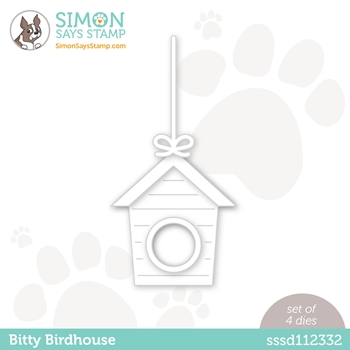RESERVE Simon Says Stamp BITTY BIRDHOUSE Wafer Die sssd112332 Hello Beautiful