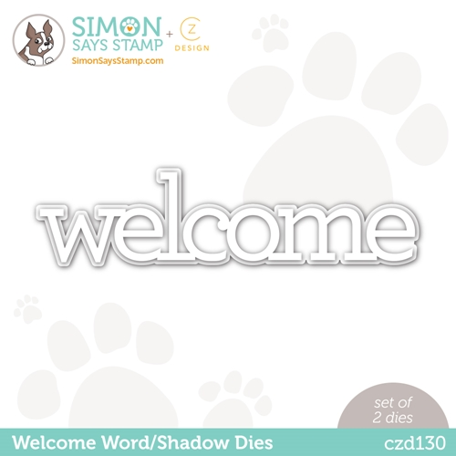 CZ Design Wafer Dies WELCOME czd130 Hello Beautiful Preview Image