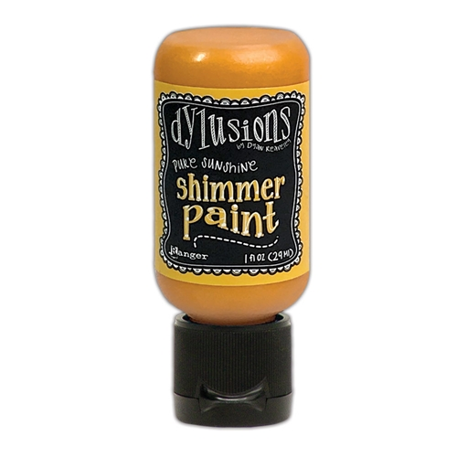 Ranger Dylusions 1oz PURE SUNSHINE Shimmer Paint dyu74465 Preview Image