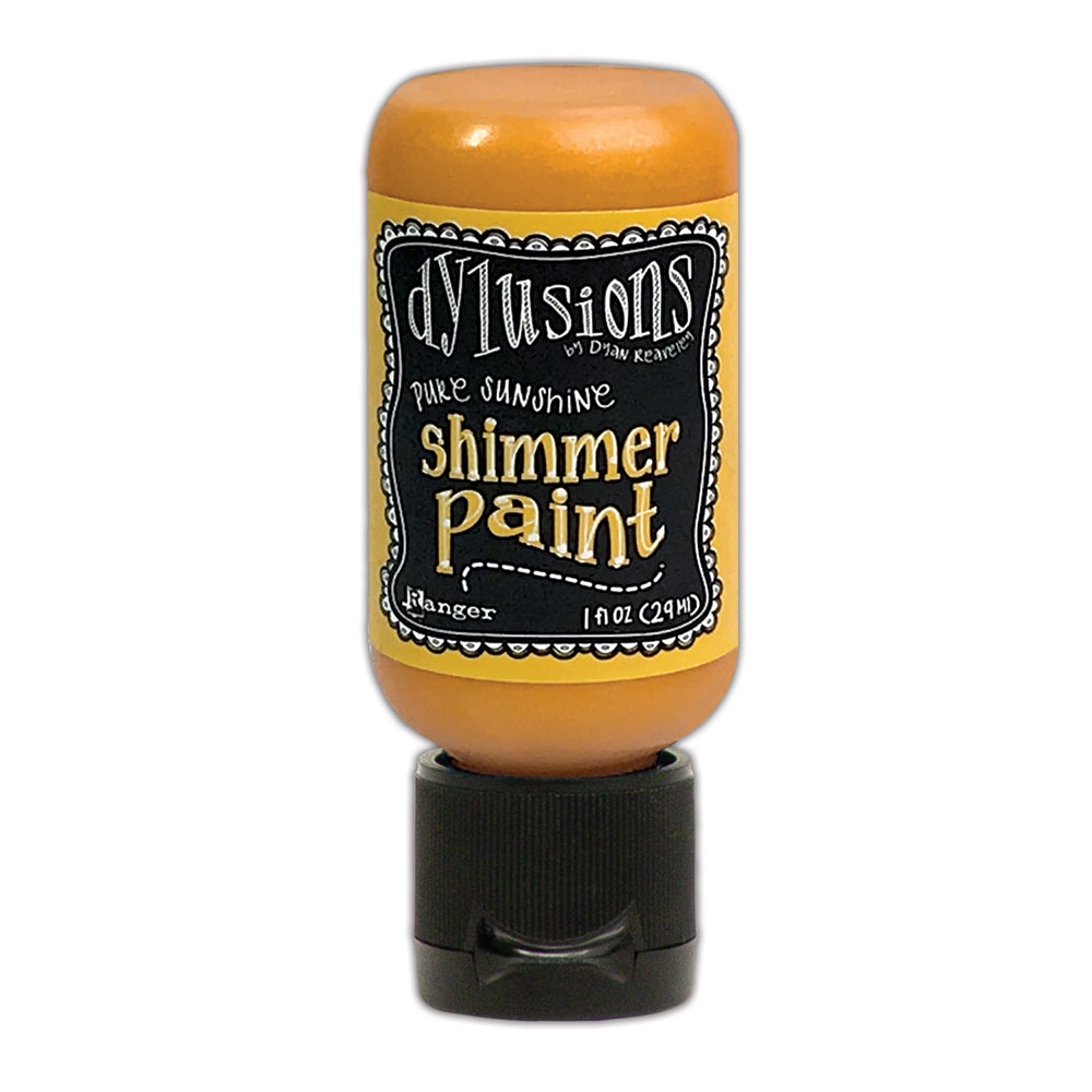 Ranger Dylusions 1oz PURE SUNSHINE Shimmer Paint dyu74465 zoom image