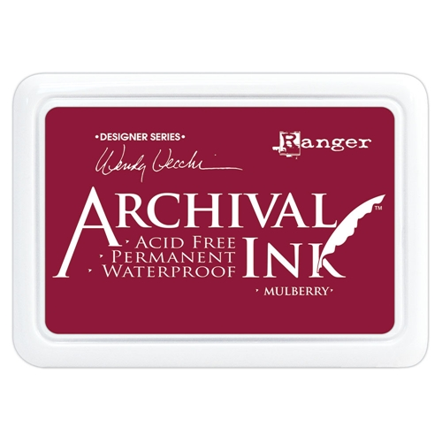 Ranger Wendy Vecchi Archival MULBERRY Ink Pad aid73994 Preview Image