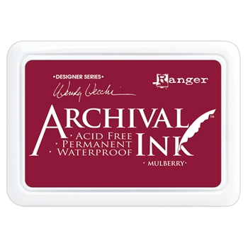 Ranger Wendy Vecchi Archival MULBERRY Ink Pad aid73994