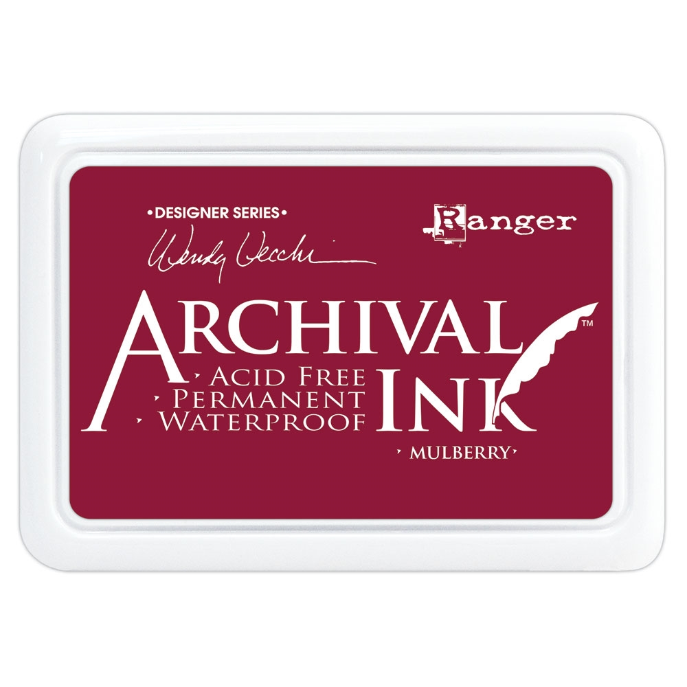 Ranger Wendy Vecchi Archival MULBERRY Ink Pad aid73994 zoom image