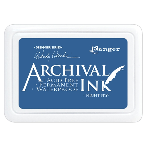 Ranger Wendy Vecchi Archival NIGHT SKY Ink Pad aid74007 Preview Image