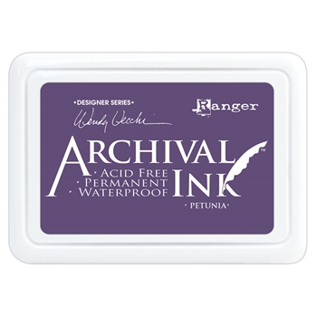 Ranger Wendy Vecchi Archival PETUNIA Ink Pad aid74021