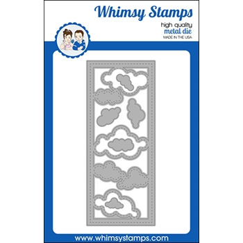 Whimsy Stamps SLIMLINE CLOUDS Dies WSD523