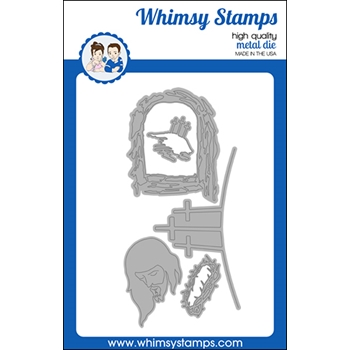 Whimsy Stamps SAVIOR Dies WSD526