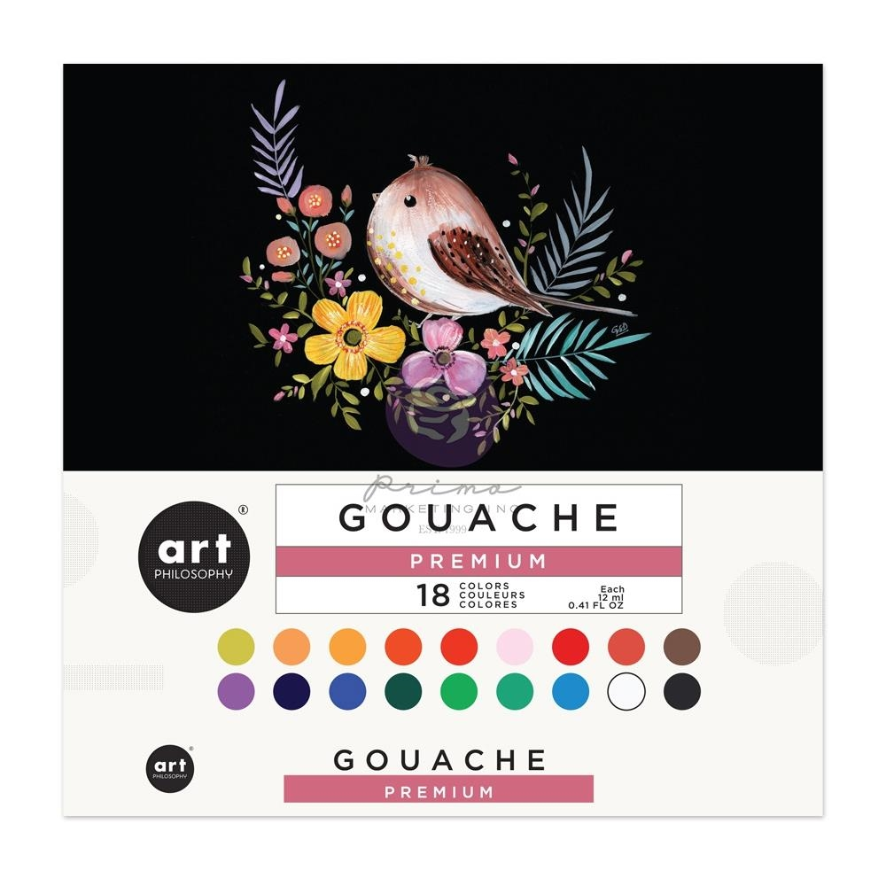 Prima Marketing GOUACHE SET Art Philosophy 650407 zoom image