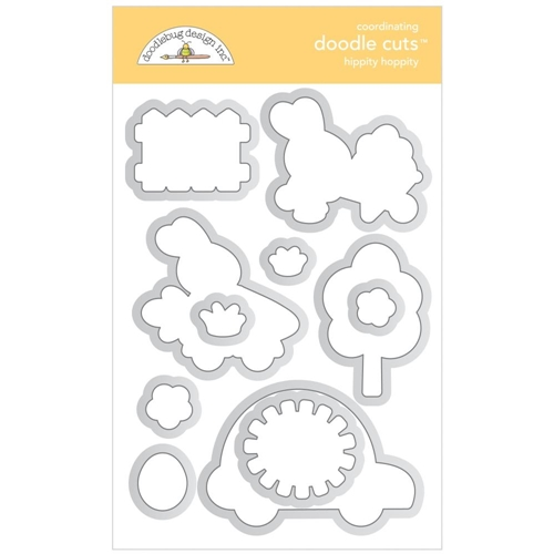 Doodlebug HIPPITY HOPPITY Doodle Cuts Dies 7179* Preview Image