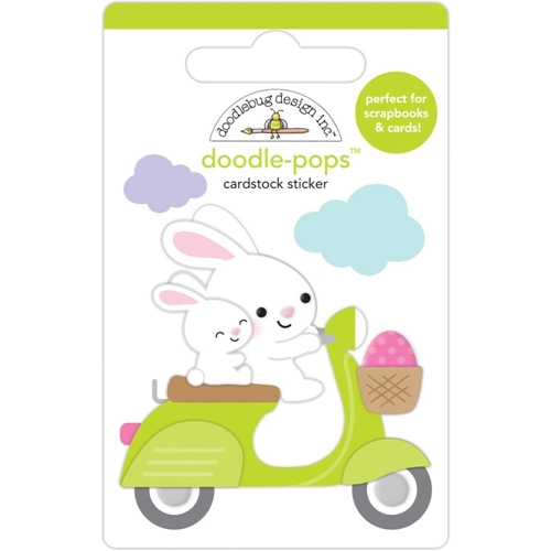 Doodlebug HOP ON Doodle Pops 3D Stickers 7173 Preview Image