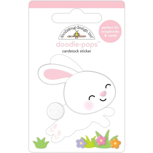 Doodlebug HIPPITY HOPPITY Doodle Pops 3D Stickers 7172 Preview Image