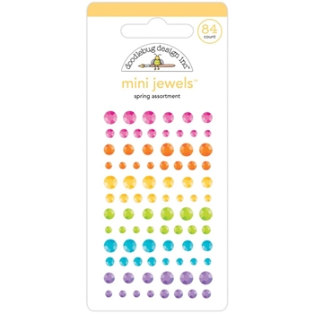 Doodlebug SPRING ASSORTMENT Mini Jewels 7170