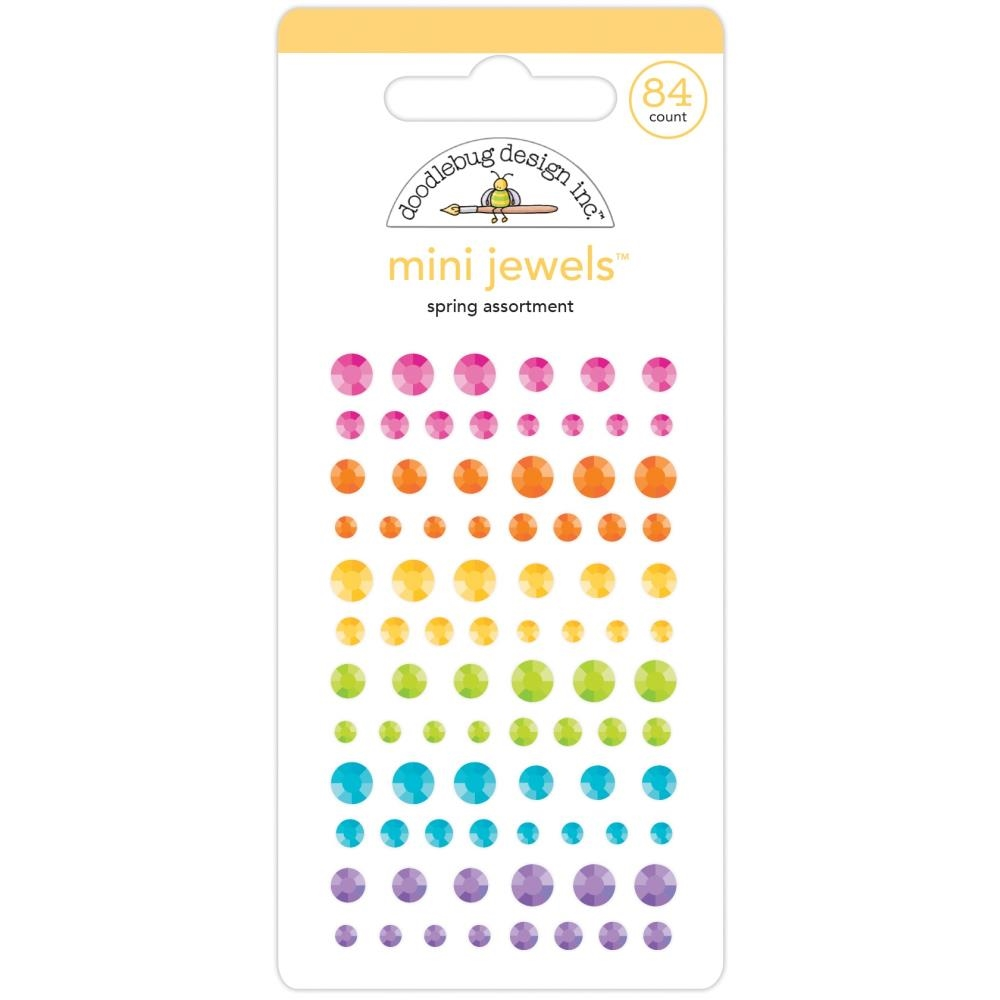 Doodlebug SPRING ASSORTMENT Mini Jewels 7170 zoom image