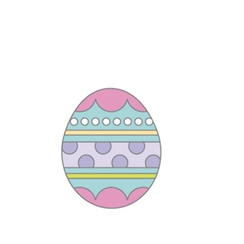 Doodlebug EASTER EGG Collectible Enamel Pin 7180