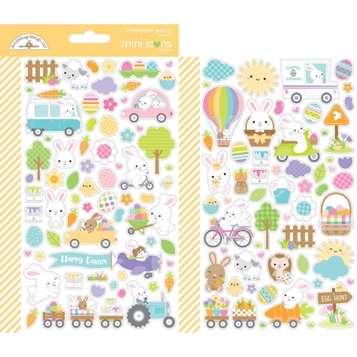 Doodlebug HIPPITY HOPPITY Mini Icons Stickers 7177 Preview Image