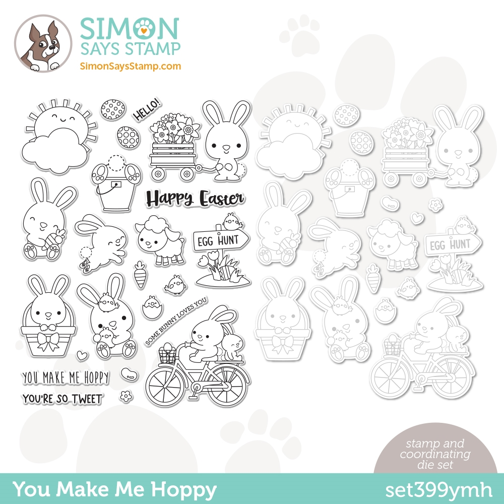 Simon Says Stamps and Dies YOU MAKE ME HOPPY set399ymh zoom image
