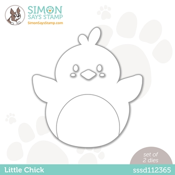 RESERVE Simon Says Stamp LITTLE CHICK Wafer Die sssd112365