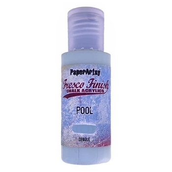 Paper Artsy Fresco Finish POOL Chalk Acrylic Paint ff186