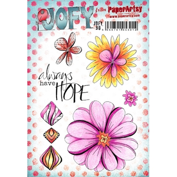 Paper Artsy JOFY 98 Cling Stamps jofy98