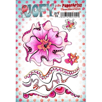 Paper Artsy JOFY 99 Cling Stamps jofy99