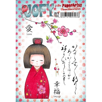 Paper Artsy JOFY 100 Cling Stamps jofy100