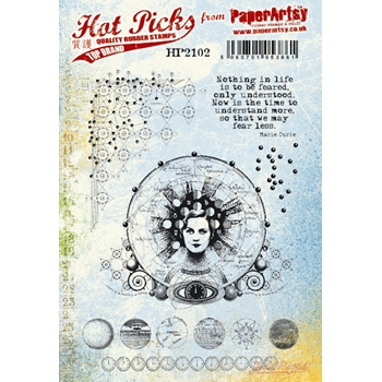 Paper Artsy HOT PICK 2102 Cling Stamps hp2102ez