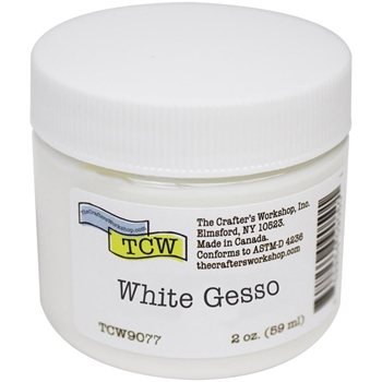 The Crafter's Workshop WHITE GESSO 2oz tcw9077