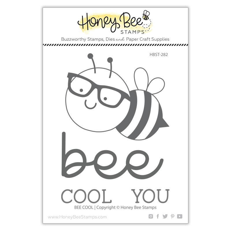 Honey Bee BEE COOL Clear Stamp Set hbst282 zoom image