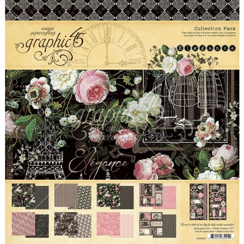 Graphic 45 ELEGANCE 12 x 12 Paper Pad 4502195 Preview Image