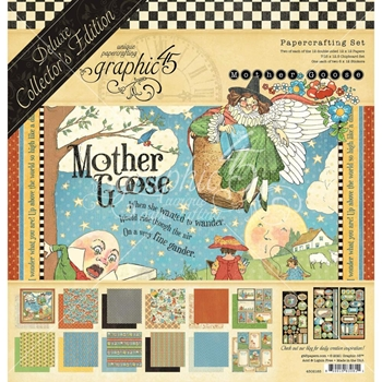 Graphic 45 MOTHER GOOSE 12 x 12 Deluxe Collector's Edition 4502185