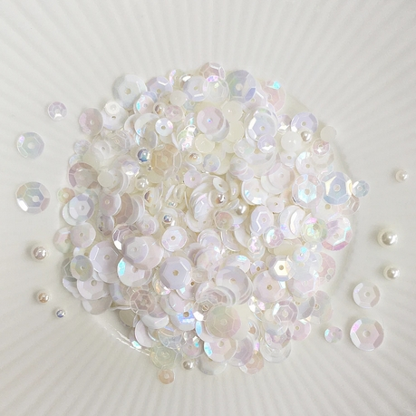 Little Things From Lucy's Cards CAMELLIA Sparkly Shaker Mix  LBSM71 Preview Image