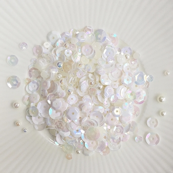 Little Things From Lucy's Cards CAMELLIA Sparkly Shaker Mix  LBSM71