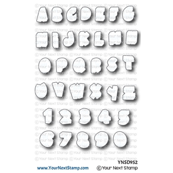 Your Next Die 3D LETTERS AND NUMBERS ynsd952
