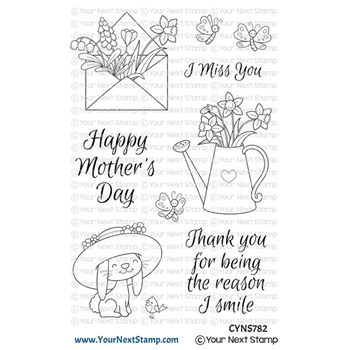 Your Next Stamp SPRING SMILES Clear cyns782
