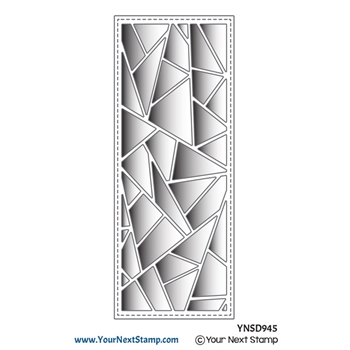 Your Next Die SLIM GEOMETRIC PANEL ynsd945