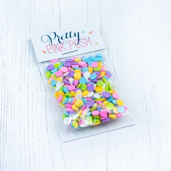 Pretty Pink Posh PARTY POP Clay Confetti