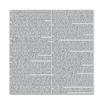 Hero Arts Cling Stamp NOVEL PROSE BOLD PRINTS CG839
