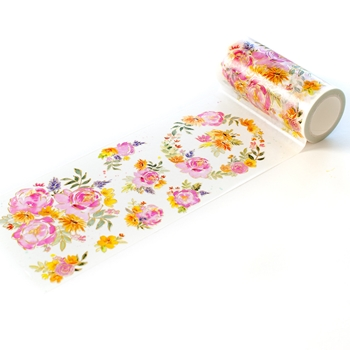 PinkFresh Studio PAINTED PEONY MIX Washi Tape 111321