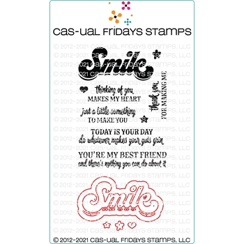 CAS-ual Fridays SASSY SMILE DUO Clear Stamps and Die Set 5823