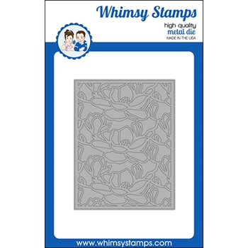 Whimsy Stamps MAGNOLIA Die WSD528