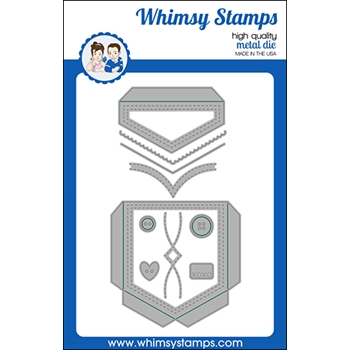 Whimsy Stamps SLIMLINE POCKET Dies WSD522