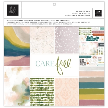 Heidi Swapp CARE FREE 12 x 12 PROJECT PAD 315675