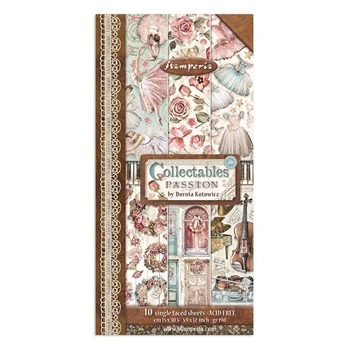 Stamperia PASSION COLLECTABLES Paper sbbv02